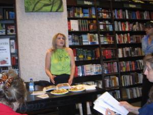 Ruth Milstein book signing